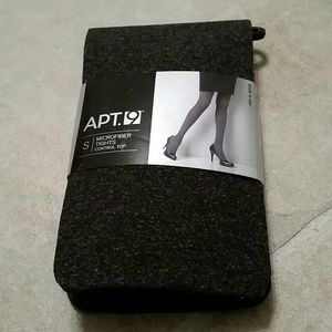 Apt. 9 Accessories - NWT microfiber tights with control top in grey