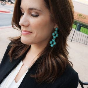 Stella & Dot 3 in 1 Sardinia Earrings