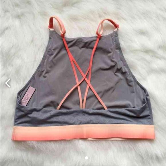 PINK Victoria's Secret Intimates & Sleepwear - NWT M High Neck T-shirt Unlined Bralette