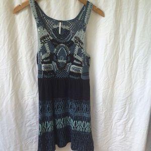 Free People knit dress