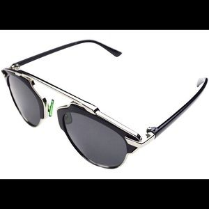 Retrocity sunglasses PANTOS AVIATORS IN BLACK