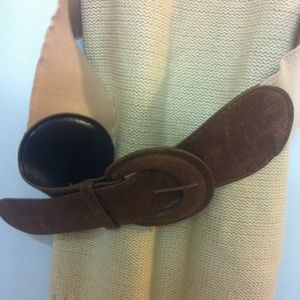 Mustard Seed Sweaters - Ivory Sweater with Belt