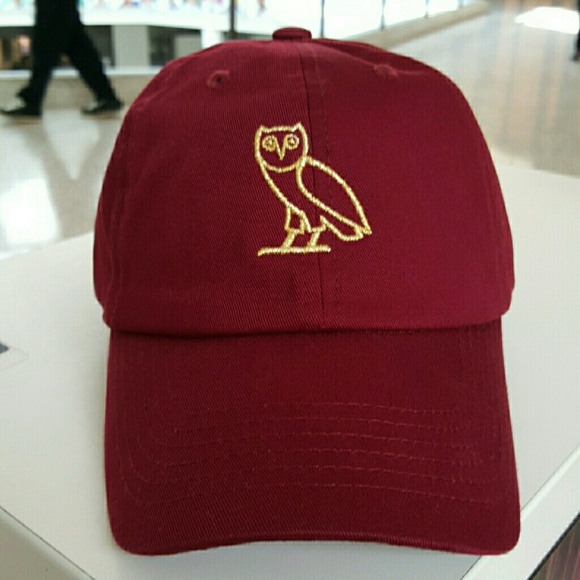 Accessories - Drake owl hat  maroon  fd80cd72293