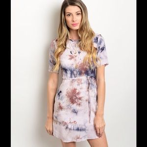 Dresses & Skirts - Tie-Dye Dress - 3 Left!