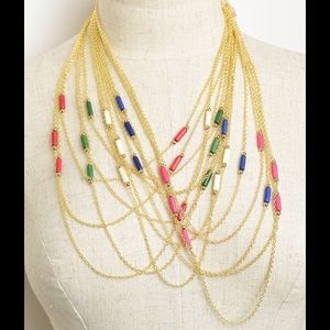 Jewelry - Multi Chain Drop Necklace
