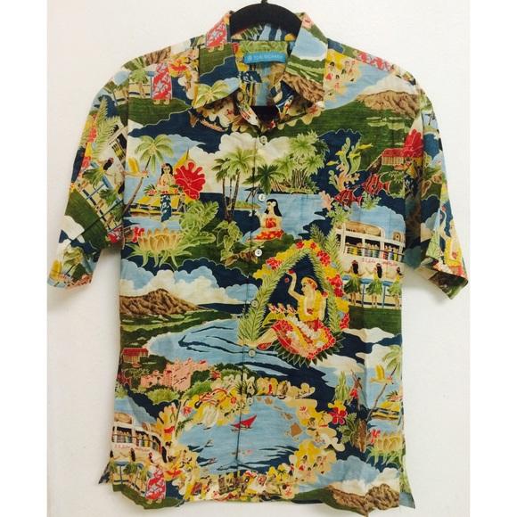 fffab18c Authentic Tori Richard aloha shirt, MADE IN HAWAII.  M_5707e476bcd4a7871b009a96