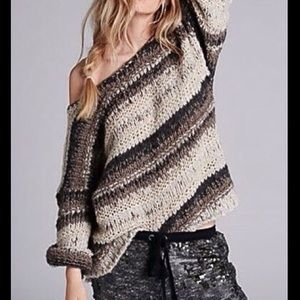 FREE PEOPLE MOHAIR BLEND PULLOVER