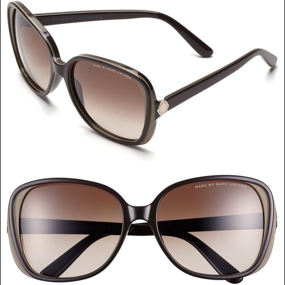 426abd8fd7ab Marc by Marc Jacobs Accessories | 57mm Sunglasses Brown Mud | Poshmark