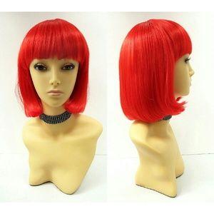 Accessories - Red bob wig
