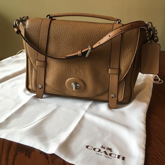 Coach Handbags - 💯% Coach Bleecker Brooklyn messenger bag 7125f606920fb