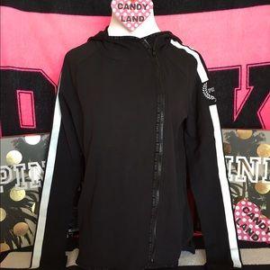 🆕VS PINK high low full zip hoodie
