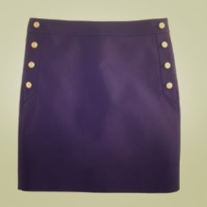Jcrew mini nautical skirt