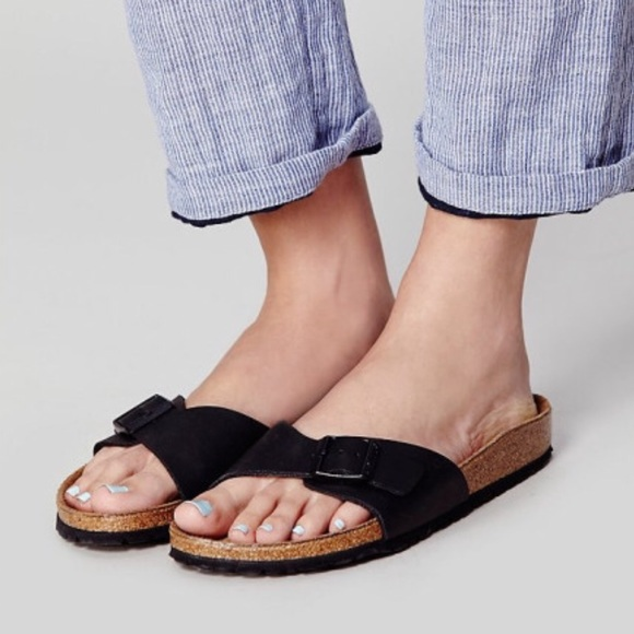 c80d71b773b Birkenstock Shoes - Free people Madrid Birkenstocks black size 10