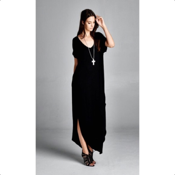 fa1fe9f1ce8 Dresses   Skirts - Oversized T-Shirt Maxi Dress