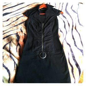 Black jeans dress