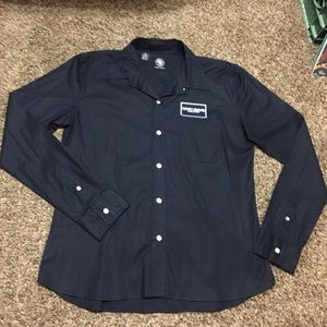 DKNY Jeans button down long sleeve