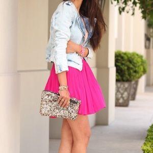 🌟HP🌟Beautiful Brand New Hot Pink Skirt
