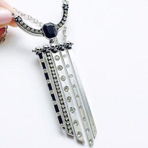 Art Deco Decadence Swarovski Crystal Necklace