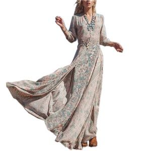 🍒 Bohemia maxi dress printed🍒