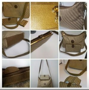 3 PC Gucci bag key holder and wallet set