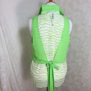 Tops - Lime green Sleeveless blouse. FINAL CLEARANCE