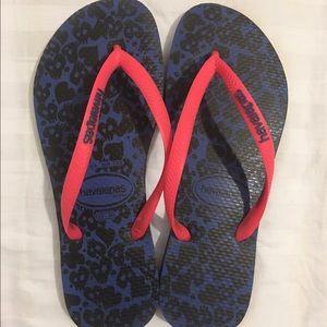 Havaianas Shoes - Navy Blue Havaianas Flip Flops