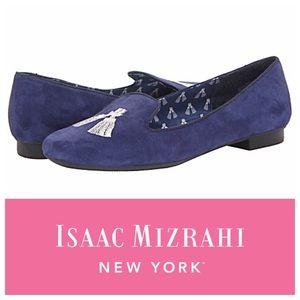Isaac Mizrahi Shoes - LAST CHANCE Isaac Mizrahi Tassel Suede Loafer