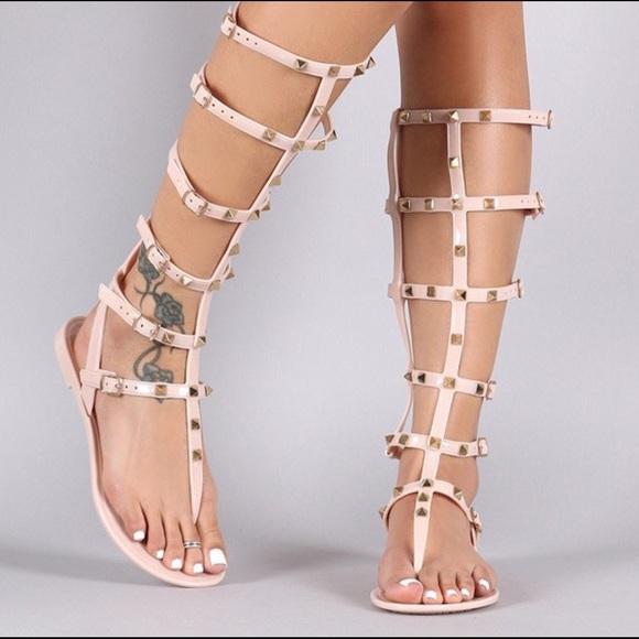 7862fe9608b7b7 Jelly gladiator sandals