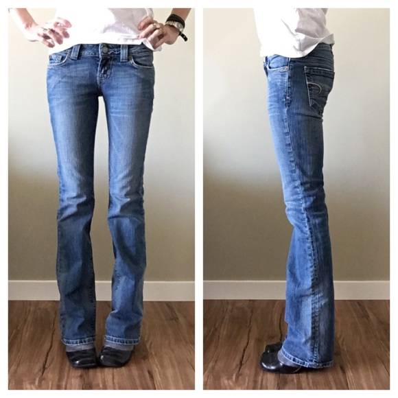 American Eagle Outfitters - AE - Boyfriend 77 Jeans - Size 00 Long ...