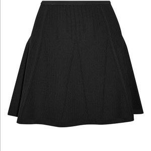 Dvf black knit skirt new size m Nellie