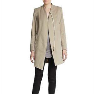 NWT Helmut Lang Moleskin Zip Jacket size Small