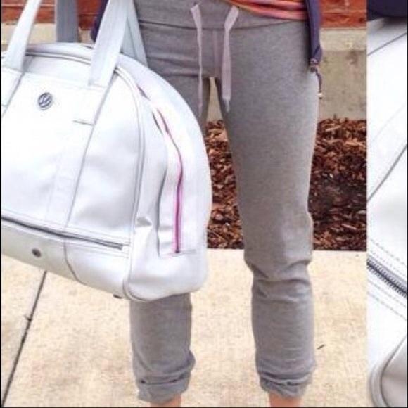 eecb0f2b34847 lululemon athletica Pants | Reserved Mrsgellman Lululemon Grey After ...