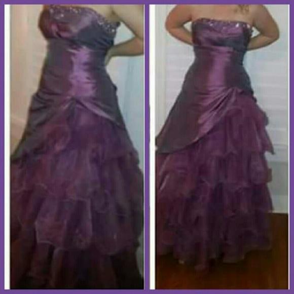 Dresses Plum Purple Formal Dress Poshmark
