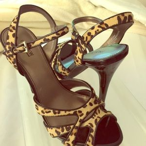 Preview Leopard Sandals with Heels...