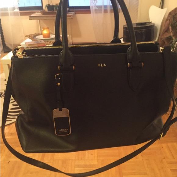 Ralph Lauren Black Work Bag. M 570910354225be69a4002303 d33be584f2c5f