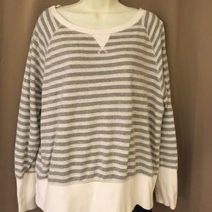 Tops - Billowy Stripe Sweater