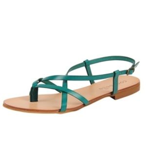 Cocobelle Shoes - $20 Off Sale!! Cocobelle Vera Teal Sandal