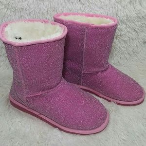 Dawgs Shoes - DAWGS Pink sparkle boots NEW!