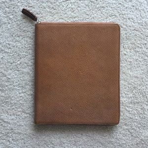Beautiful leather iPad cover