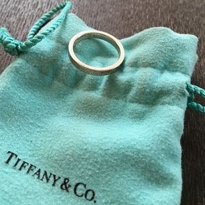 """Tiffany & Co. Jewelry - Tiffany & Co. """"I love you"""" ring in sterling silver"""