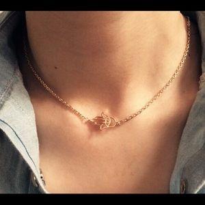 Accessories - Fashion jewelry New chain link hand palm eye penda