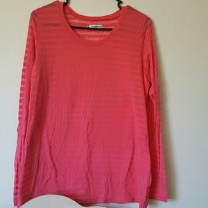 Bright pink Maurices long sleeve