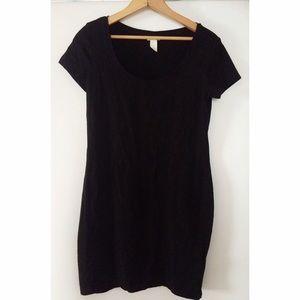 cf7db1254d H M Dresses - Black H M Basic T-Shirt Dress
