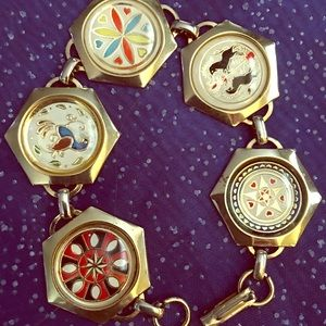 Vintage Amish Lucky Charm Bracelet
