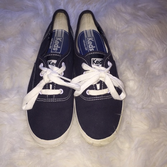 Keds Shoes | Navy Blue Keds | Poshmark