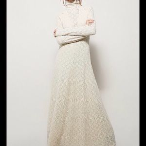 FREE PEOPLE WHITE RIVER MAXI