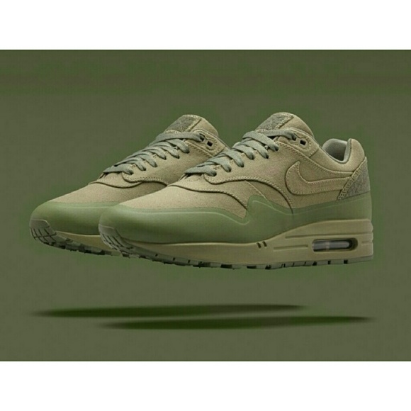best website 6a058 c8e42 SOLD Nike Air Max 1 V Sp Patch Steel Green