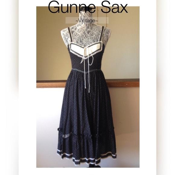 6eeac5ddc6344 Vintage GUNNE SAX Prairie Dress Sz 7