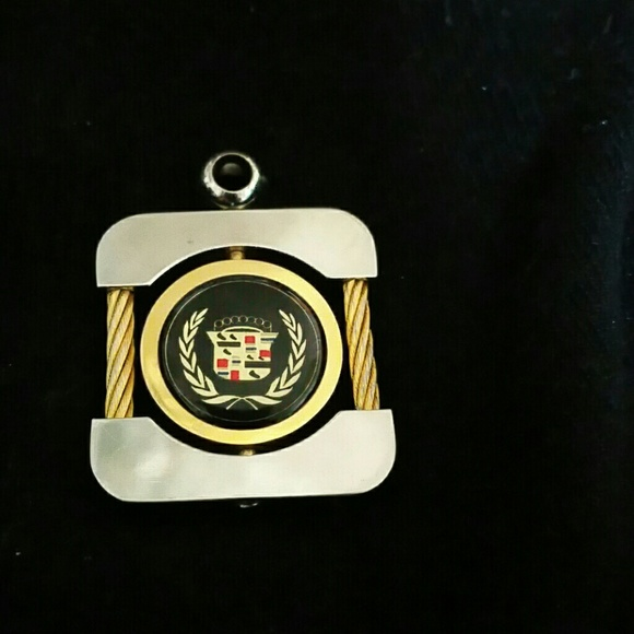 Vintage Cadillac Keychain Necklace