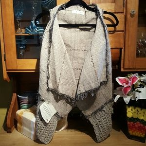 NWT Hand woven vest